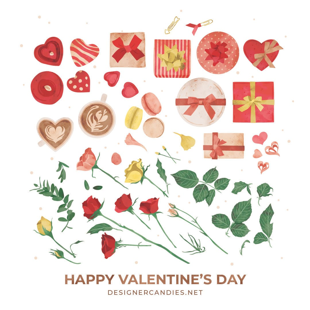 Valentine's Day Vector Illustrations